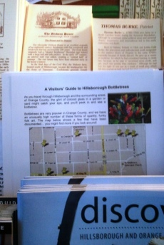Hillsborough Bottletrees Visitor Flyer