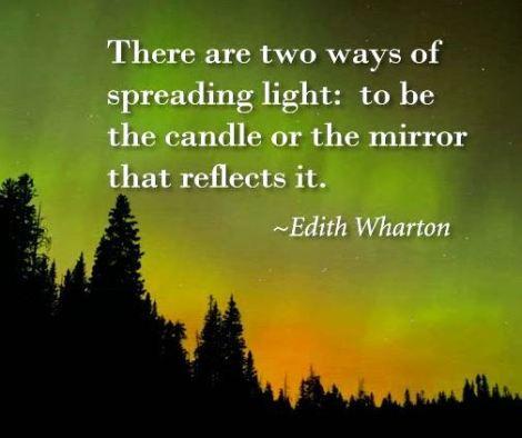 edith wharton candle quote
