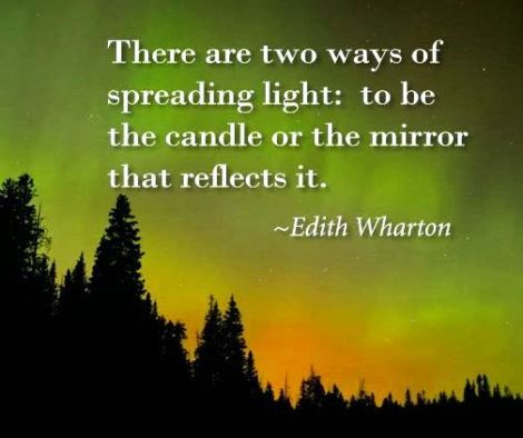 edith wharton candle quote