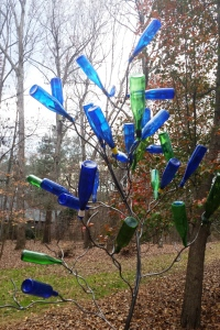 sparkly blue bottletree jeremy stollings